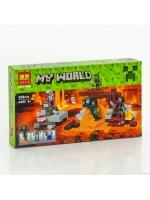 Конструктор Bela Minecraft 10469 Иссушитель