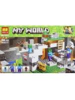 Конструктор Bela Minecraft 10810 Пещера зомби