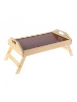 Уценка Столик складной деревянный для завтрака