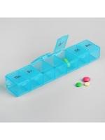 Таблетница контейнер на неделю на 1 прием 7 ячеек