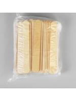 Набор палочек для мороженого и депиляции 100 шт прямые широкие 14 х 1,5 см