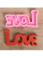Силиконовая форма молд для творчества и выпечки Любовь Love