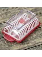 Слайсер для чипсов с формой для приготовления в микроволновке