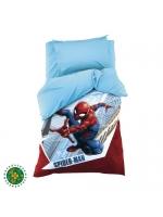 Постельное бельё Человек-Паук Супергерой поплин 1,5-спальное