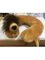 Стильная подушка для шеи игрушка животное для полета или поездки