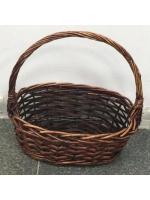 Плетенная корзина для хранения декоративная малая