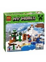 Конструктор Bela Minecraft Снежное укрытие №10391