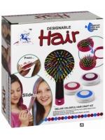 Мелки для волос (в пудре) с расческой в комплекте